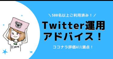 【満員御礼・追加募集】Twitter運用アドバイス!初心者がやるべきことを明確にお伝え!