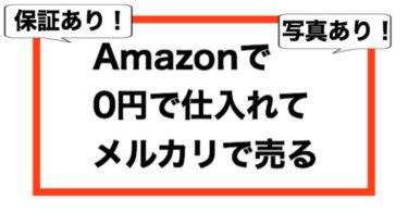 Amazon0円転売の全て