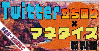 Twitterの立ち回り+マネタイズの教科書