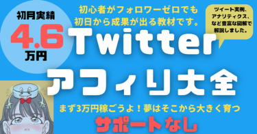 Twitterアフィリ大全(*サポートなしプラン)